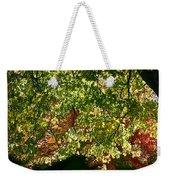 Backlit Autumn Weekender Tote Bag