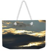 Backlit Clouds Weekender Tote Bag