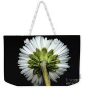 Backside Of A Daisy Flower Weekender Tote Bag