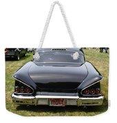 Backside Of An Impala Weekender Tote Bag