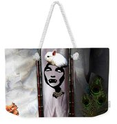 Bad Hare Day Weekender Tote Bag