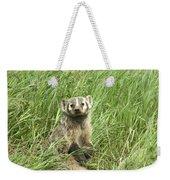 Badger Weekender Tote Bag