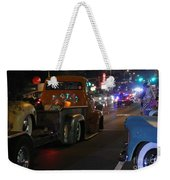 Bagged And Dragged In Austin Texas Weekender Tote Bag