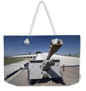 Baghdad, Iraq - An Iraqi Howitzer Sits Weekender Tote Bag by Terry Moore