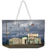 Bait Shop By Aransas Pass In Texas Weekender Tote Bag