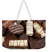 Baker - Who Wants Cookies Weekender Tote Bag by Mike Savad
