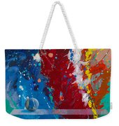 Balancing Act Weekender Tote Bag by Snake Jagger