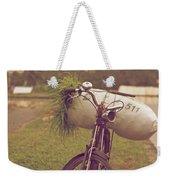 Bali Bike Weekender Tote Bag