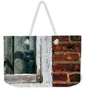 Ball Jar And Lace Weekender Tote Bag