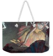 Ballerina And Lady With A Fan Weekender Tote Bag