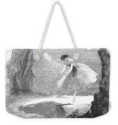 Ballet: Ondine, 1843 Weekender Tote Bag