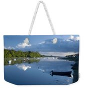 Ballina, Co Mayo, Ireland Morning Weekender Tote Bag