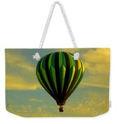 Balloon Ride Through Gold Clouds Weekender Tote Bag