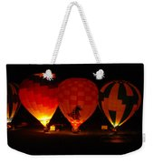 Balloons At Night Weekender Tote Bag