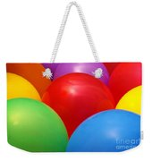 Balloons Background Weekender Tote Bag by Carlos Caetano