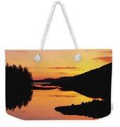 Ballynahinch Lake, Connemara, Co Weekender Tote Bag