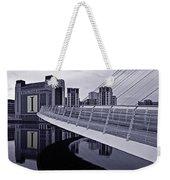 Baltic And Gateshead Millennium Bridge Weekender Tote Bag