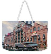 Baltimore Power Plant Weekender Tote Bag by Brian Wallace