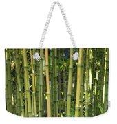 Bamboo Weekender Tote Bag