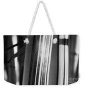 Bamboo Closeup Weekender Tote Bag