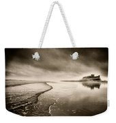 Bamburgh Castle Weekender Tote Bag by Simon Marsden