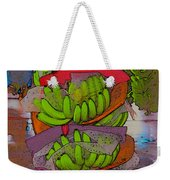 Banana Harvest Weekender Tote Bag