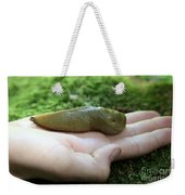 Banana Slug On Hand Weekender Tote Bag