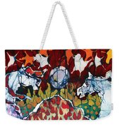 Band Of Horses Weekender Tote Bag by Carol Law Conklin