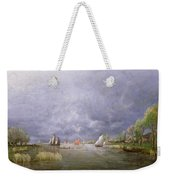 Banks Of The Loire In Spring Weekender Tote Bag