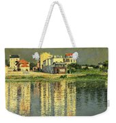 Banks Of The Seine At Argenteuil Weekender Tote Bag