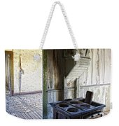 Bannack Ghost Town Kitchen Stove 2 Weekender Tote Bag
