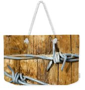 Barbed Weekender Tote Bag