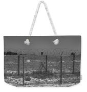 Barbed Wire Fence Weekender Tote Bag