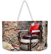 Barber Chair Weekender Tote Bag