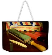 Barber - Keep The Razor Sharp Weekender Tote Bag
