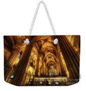 Barcelona Cathedral  Weekender Tote Bag