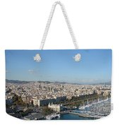 Barcelona View 2 Weekender Tote Bag