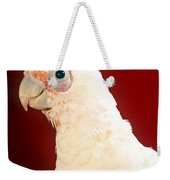 Bare Eyed Cockatoo Weekender Tote Bag