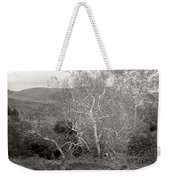 Bare Garden In The Hills Weekender Tote Bag