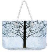 Bare Tree In Winter Weekender Tote Bag