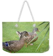 Barefoot Stroll In The Grass Weekender Tote Bag
