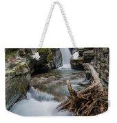 Baring Creek Waterfall And Rapids Weekender Tote Bag