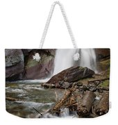 Baring Falls In Spring Weekender Tote Bag