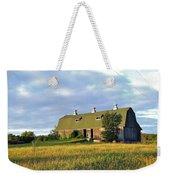 Barn In A Golden Field Weekender Tote Bag
