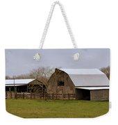 Barn In The Ozarks Weekender Tote Bag