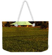 Barn In The Style Of The 60s Weekender Tote Bag
