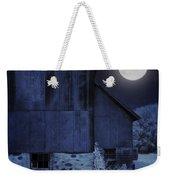 Barn Under A Full Moon Weekender Tote Bag