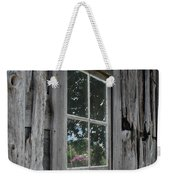 Barn Window Reflection Weekender Tote Bag