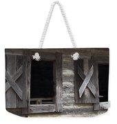 Barn Windows Weekender Tote Bag