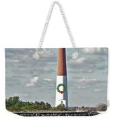 Barnegat Lighthouse - New Jersey - Christmas Card Weekender Tote Bag